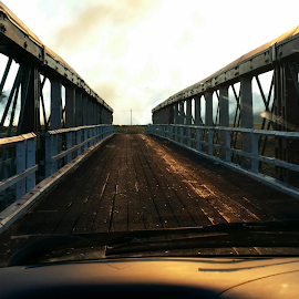 When the sun goes down by Feona Green-Puttock - Instagram & Mobile Android ( sunset, bridge )