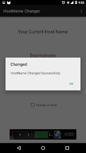 Hostname Changer  Root    Android Apps On Google Play