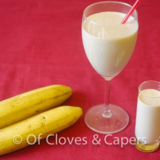 Banana Smoothies With Peanut Butter Recipes