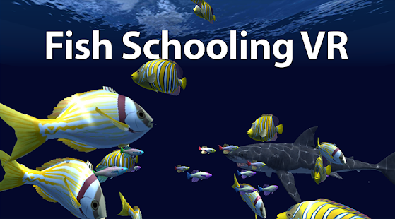 Fish schooling vr apk for blackberry download android for Fishing vr games