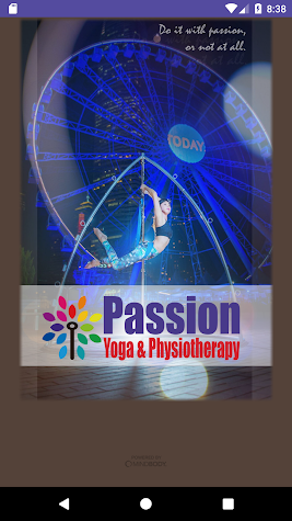 Passion Yoga & Physiotherapy Screenshot