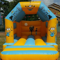 Despicable Me Minions Bouncy Castle for Hire