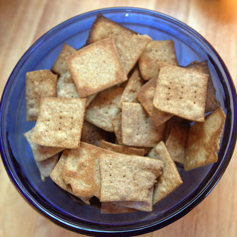 Wheat Thins from Scratch
