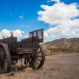 Calico Wagon by Jose Matutina - Transportation Other ( mojave desert, california, i-15 )