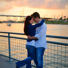 Love by the bay by Brenda Shoemake - People Couples