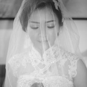 Beautiful Bride by Ahmat Supriyadhi - Wedding Bride ( wedding, beautiful, getting ready, ceremony, bride,  )