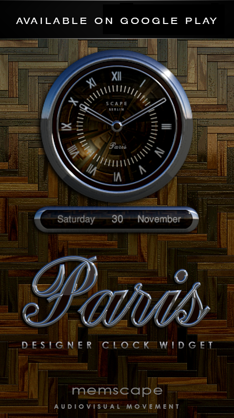 PARIS Next Launcher 3D Theme Screenshot 4