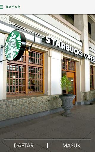 Starbucks Indonesia screenshot 1
