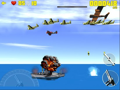 War: Fighters vs Battleships - screenshot