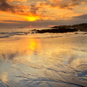 Footstep by Fariz Mohammad - Landscapes Beaches