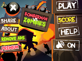 Screenshot of Bomber vs Zombies