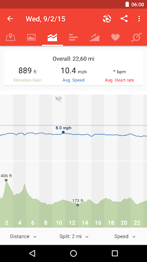 Runtastic Road Bike PRO screenshot 5