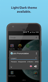 Quick Pronunciation Tool Screenshot