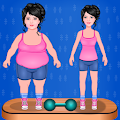 Fat To Slim Fitness Girl Game