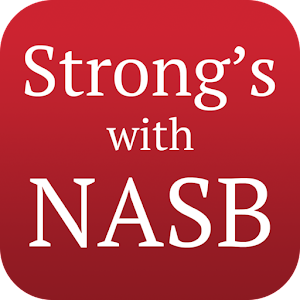 Strongs Concordance with NASB