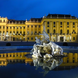Good night by Helena Moravusova - Buildings & Architecture Public & Historical ( europa, schonbrunn, vienna )