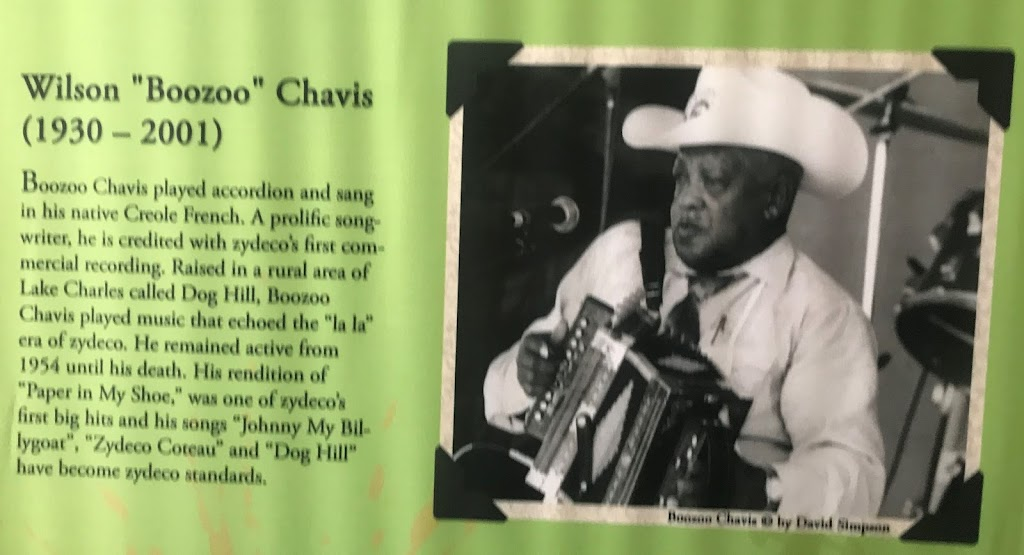 Boozoo Chavis played accordion and sang in his native Creole French, A prolific songwriter, he is credited with zydeco's first commercial recording. Raised in a rural area of Lake Charles called Dog ...