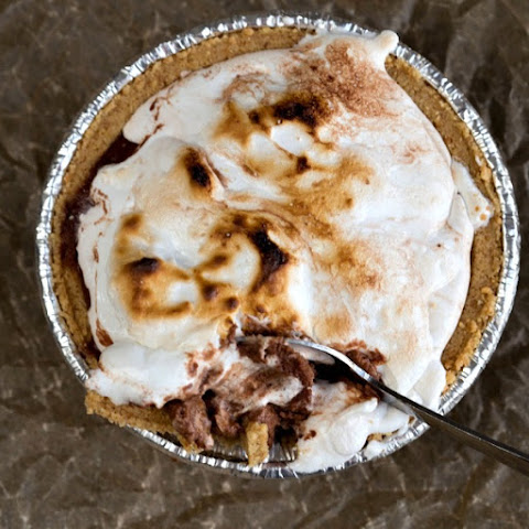 Frozen S'mores Pie
