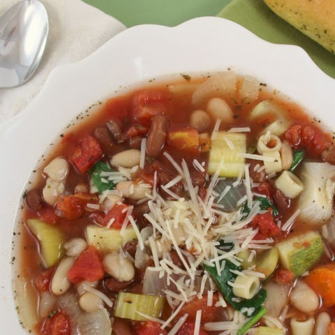 Crock Pot Copy Cat Olive Garden Minestrone Soup