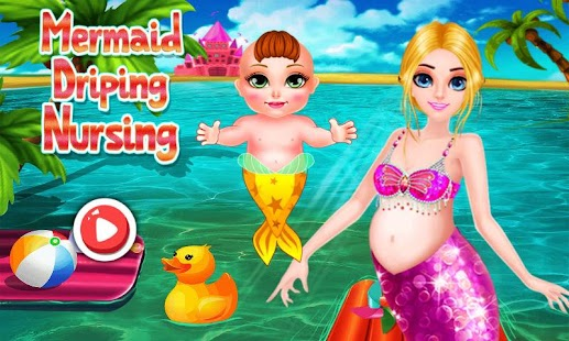 Mermaid Driping Nursing-Baby - screenshot
