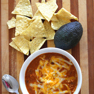 Zupa's Copycat Crockpot Chicken Enchilada Soup