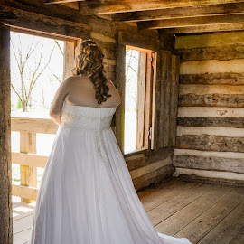 by Ab Hayes Photography - Wedding Bride