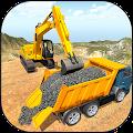 Crane Excavator Builder Road APK for Bluestacks