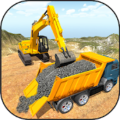 Crane Excavator Builder Road APK for Bluestacks