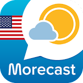 Morecast USA Weather & Radar APK for Bluestacks