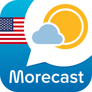 Weather & Radar - Morecast App - Burst App Icon