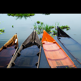 The Boat by Dwinda Mauwaldi C - Transportation Boats ( semarang, travel, boat, river )
