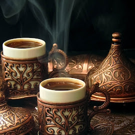 Turkish coffee by Fidaa Haddad - Food & Drink Alcohol & Drinks ( cup, coffee, coffee cup, morning coffee, turkish coffee )