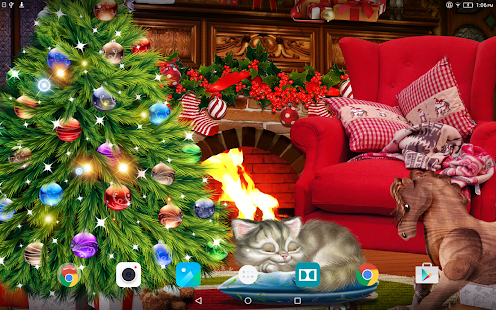 Christmas Eve Live Wallpaper Screenshot
