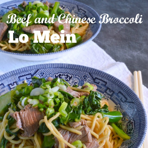 Beef and (Chinese) Broccoli Lo Mein