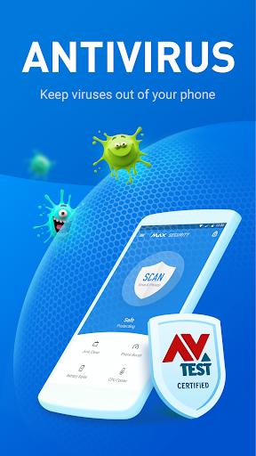 Virus Cleaner - Antivirus, Booster (MAX Security) screenshot 1