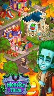 Monster Farm: Happy Halloween Game & Ghost Village
