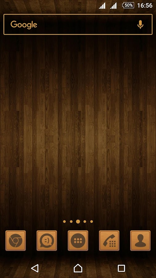Wooden Icons Brown Screenshot 3
