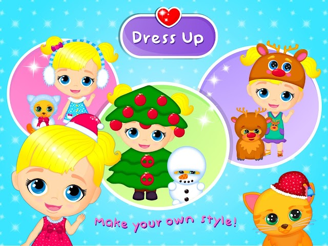 android Lily & Kitty Baby Christmas Screenshot 9