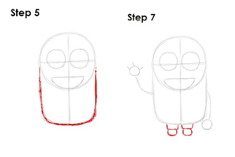 How to draw Despicable me - screenshot