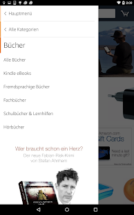 Amazon für Tablets Screenshot