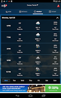 Screenshot of WeatherBug