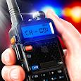 Police walkie-talkie radio sim