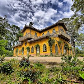 Chalet da Condessa by Julio Cardoso - Buildings & Architecture Public & Historical ( sintra, chalet da condessa, parque da pena, condessa d'edla, portugal )