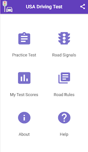 Practice Test USA & Road Signs for pc