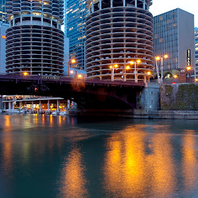 State Bridge by Cristobal Garciaferro Rubio - Buildings & Architecture Bridges & Suspended Structures ( chicago bridge, chicago river, chicago, bridge, usa, pwcbridges )