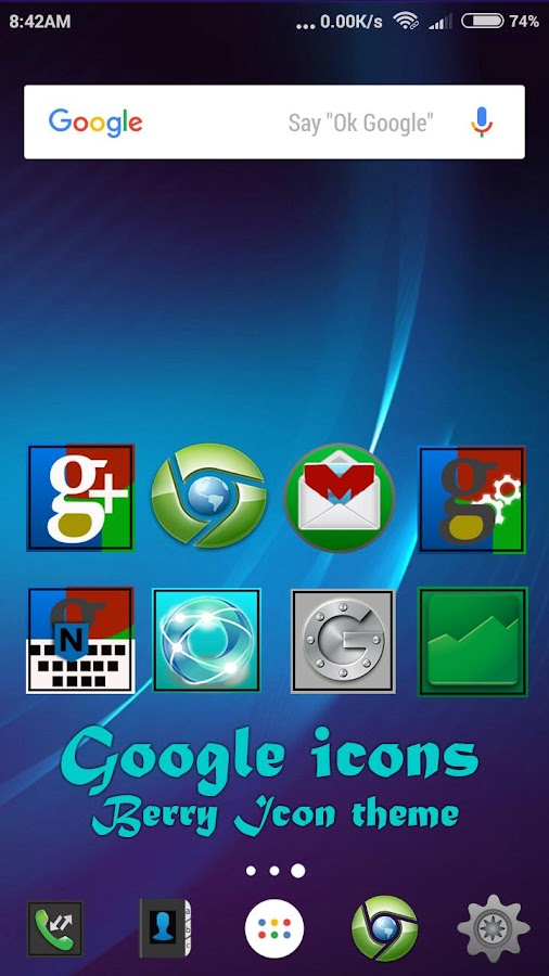 Berry icon theme Screenshot 1