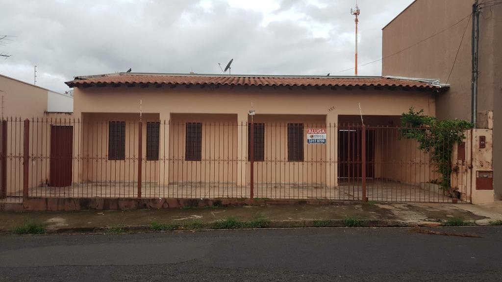 Casa com 4 dormitórios para alugar, 141 m² por R$ 1.500/mês - Olinda - Uberaba/MG