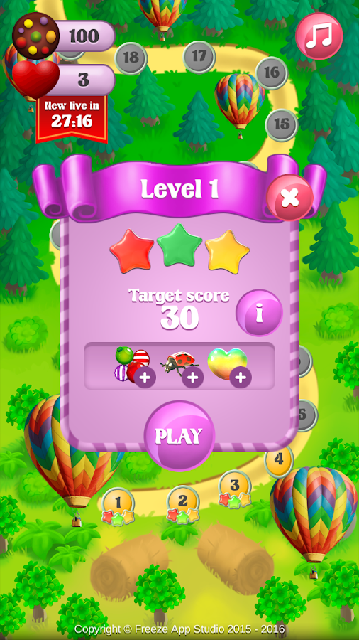 Candy Free Screenshot 3