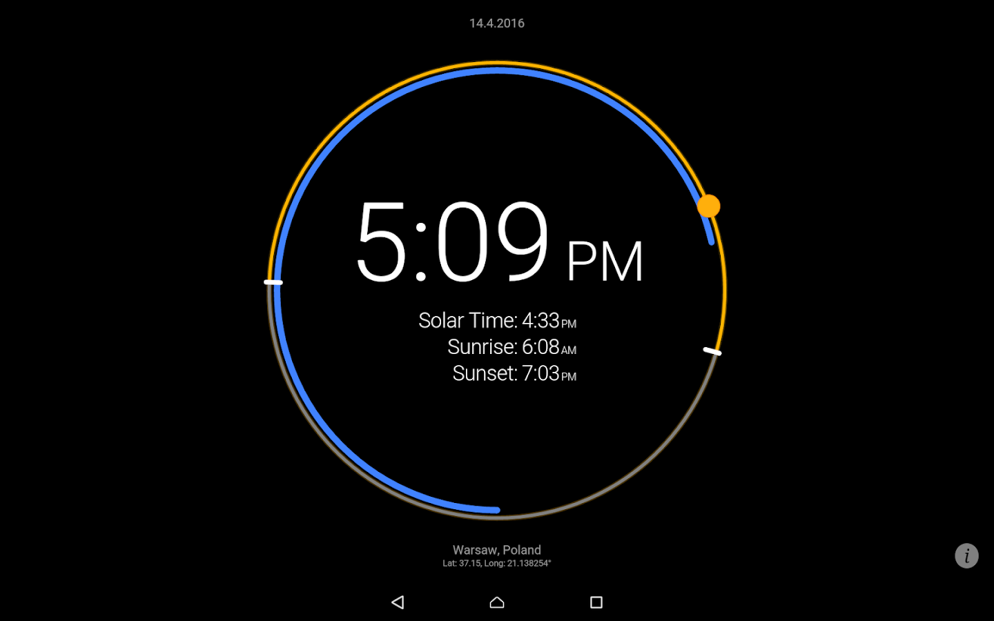 Sun Clock Screenshot 8