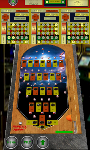android Pinball Bingo Machine Screenshot 1